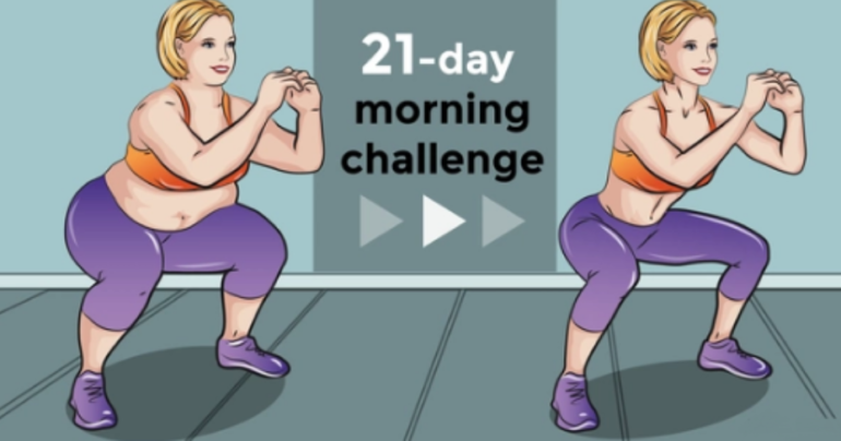 The Famous 21-day Challenge To Help You Reduce Fat