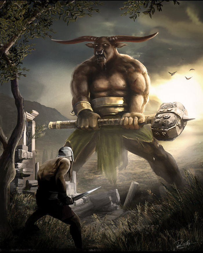 Logical Mystery...: The Labyrinth…was it bull(aka Minotaur)???