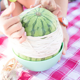 How many rubber bands does it take to explode a watermelon?  This fun Kids STEM Science activity aims to find out!