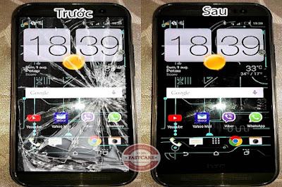 Dịch vụ thay màn hình HTC One M8 chính hãng