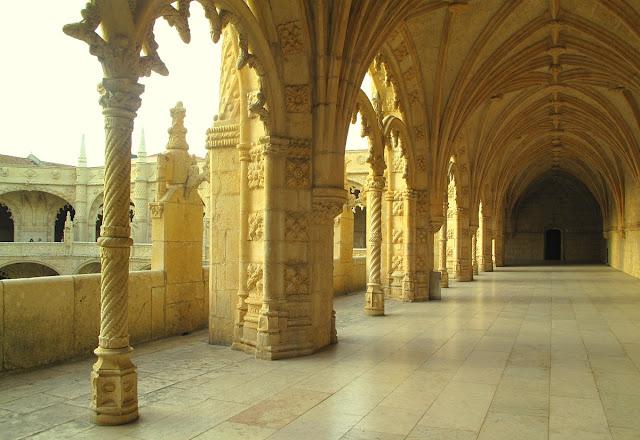 Lissabon - klostret Jeronimos