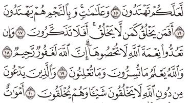 Tafsir Surat An-Nahl Ayat 16, 17, 18, 19, 20