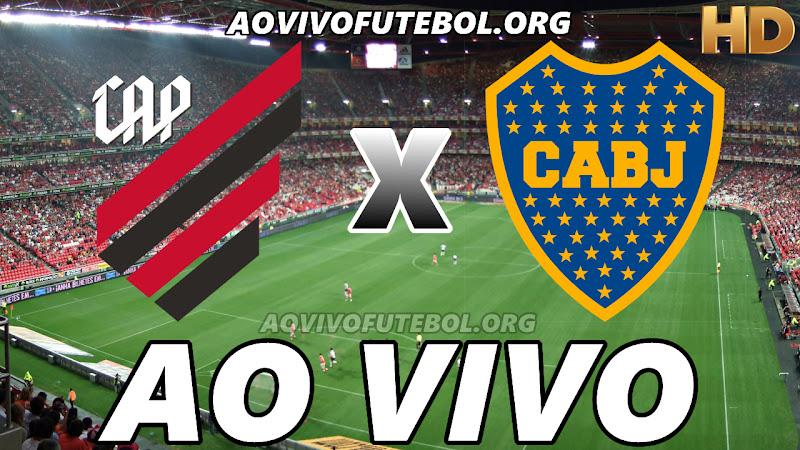 Assistir Atlético Paranaense vs Boca Juniors Ao Vivo HD