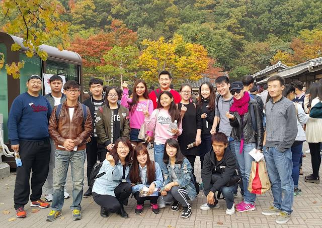 Du học sinh Việt Nam đang học tập tại  Hàn Quốc