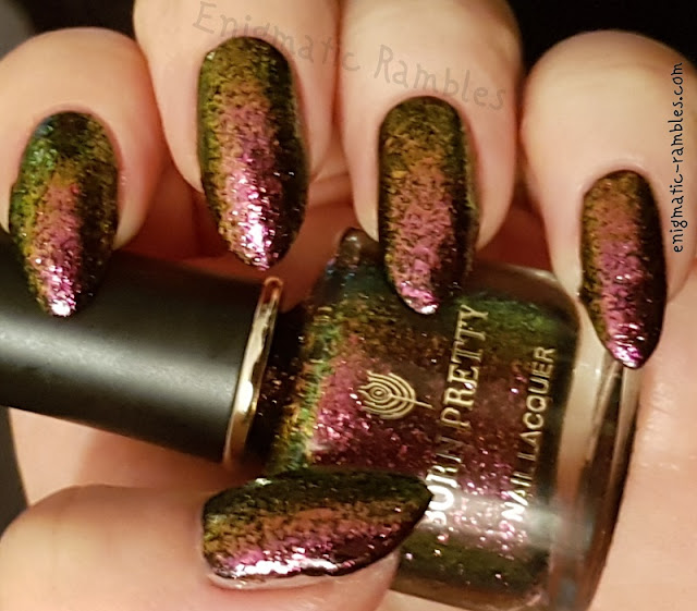 Swatch-Born-Pretty-Store-Chameleon-Nail-Polish-Violet-Galaxy
