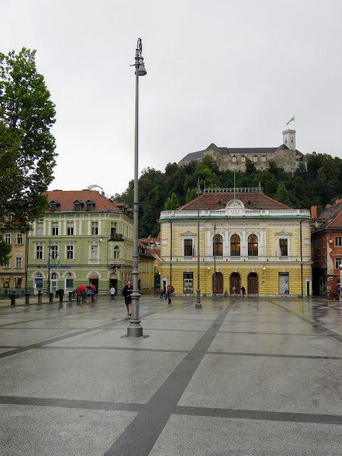 Congress Square in Ljubljana Slovenia