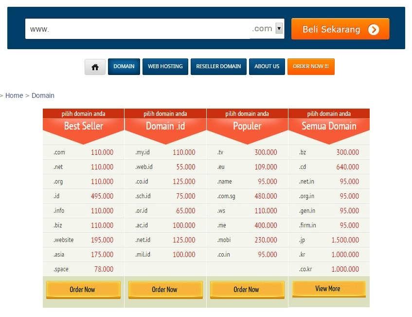 26+ Harga hosting dan domain per tahun ideas