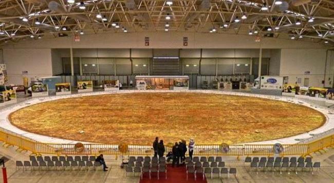 Lo Nunca Visto Sobre La Comida La Pizza Más Grande Del Mundo