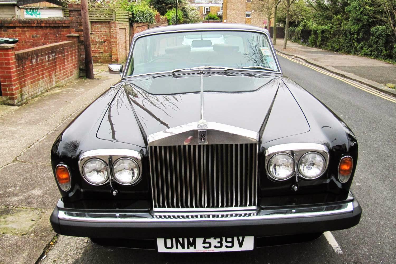 vintage car spotting in streets of london rolls royce silver shadow ii 2. Black Bedroom Furniture Sets. Home Design Ideas