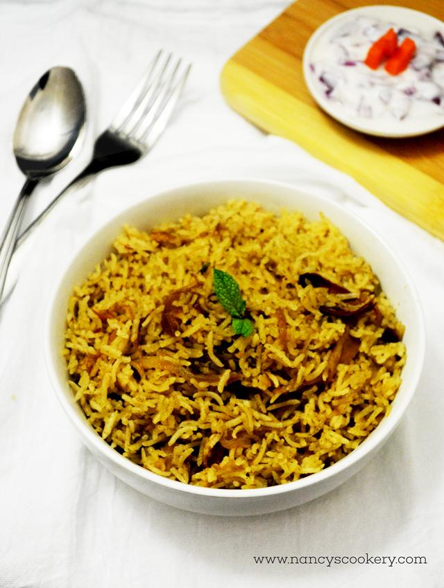 Mint Pulao / Mint Rice Recipe