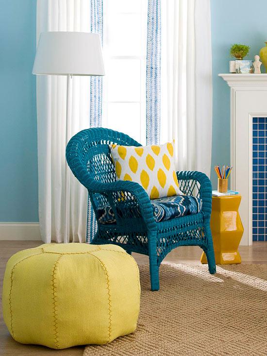 Modern Furniture: Cheap Living Room Decorating Updates