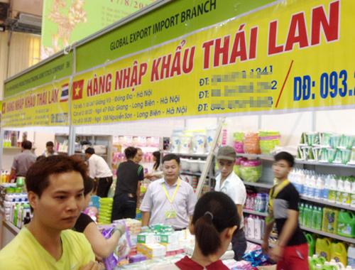Hàng Thái lấn ép hàng Việt tại siêu thị