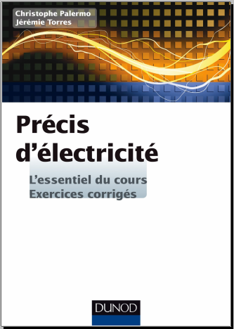 Livre : Précis d'Electricité - L'essentiel du cours, exercices corrigés - Christophe Palermo PDF