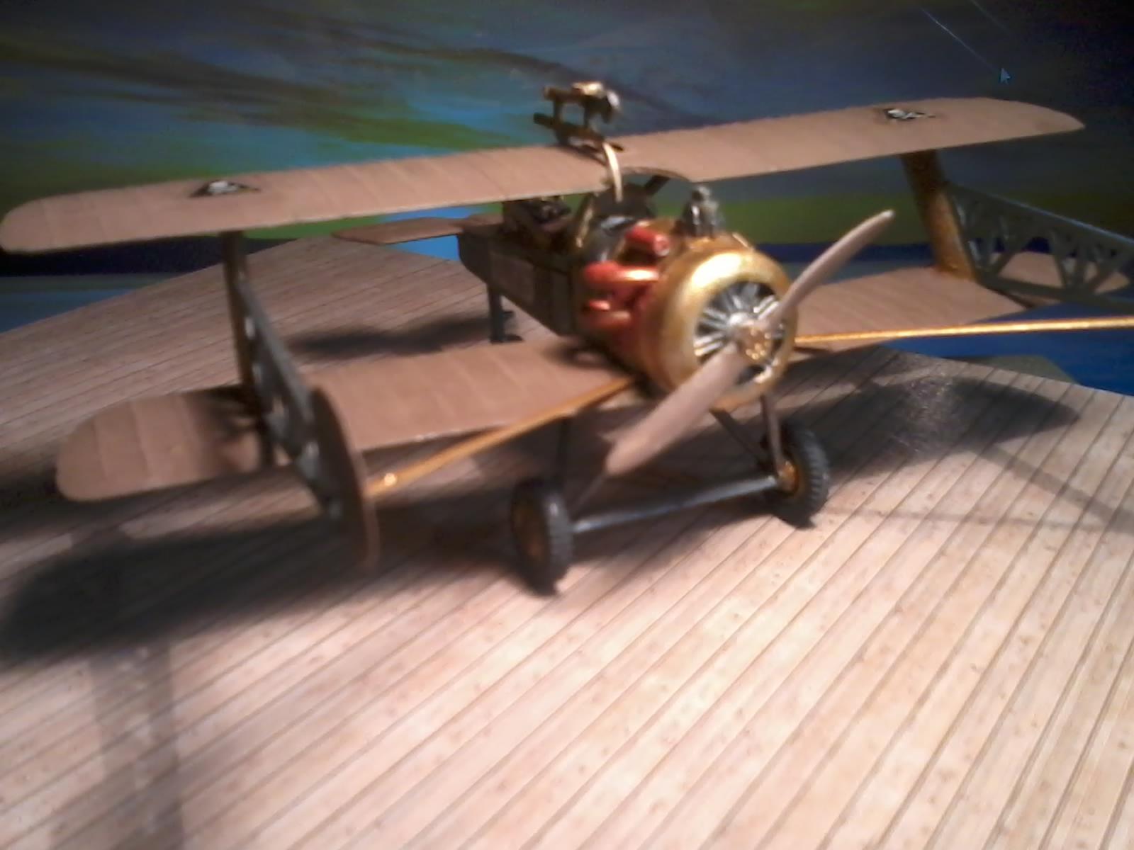 Steampunk Flugzeug