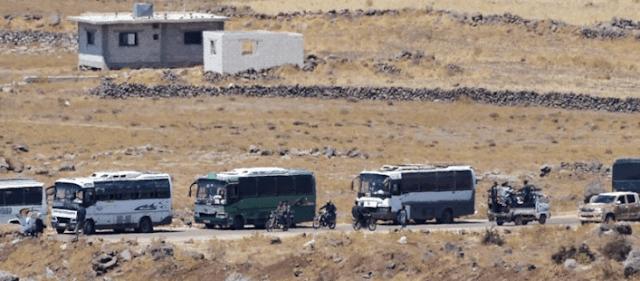 Evakuasi pemberontak dari Quneitra