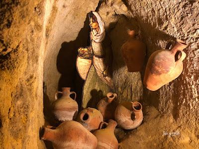 Subterráneos en Fortaleza de La Mota