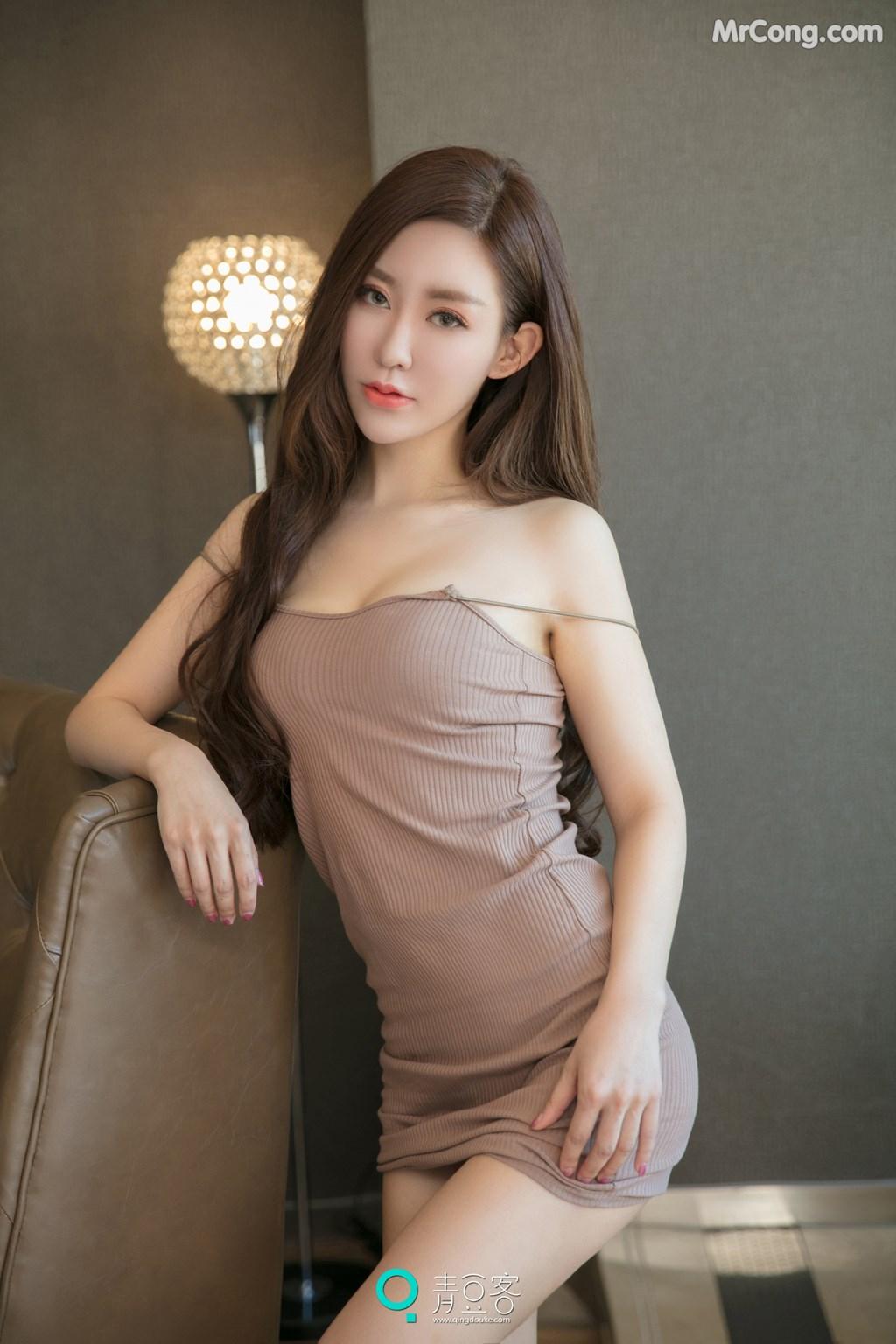 Image QingDouKe-2017-10-12-Qiao-En-Xi-MrCong.com-003 in post QingDouKe 2017-10-12: Người mẫu Qiao En Xi (乔恩夕) (54 ảnh)