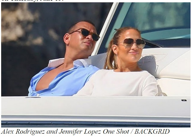 Alex Rodriguez and Jennifer Lopez Flaunts Their Beach Bodies on Vacation in France