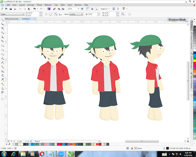 How to Make Character with Graphic Sprite Sheet Tutorial
