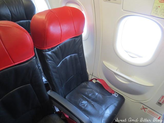 AirAsia Economy Seats