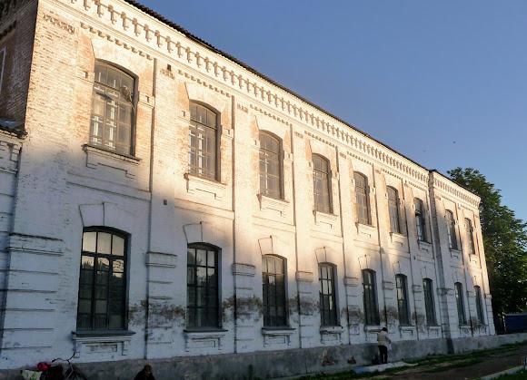 Конотоп. Учебный корпус железнодорожного училища