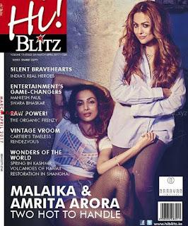 Malaika Arora and Amrita Arora for Hi! Blitz Magazine India March April 2017   4.jpg