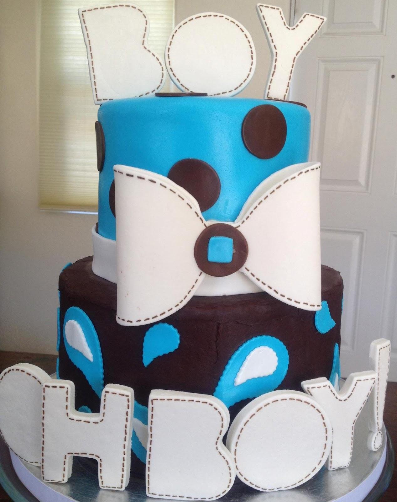 AimeeJo Desserts Boy Oh Boy Baby Shower Cake
