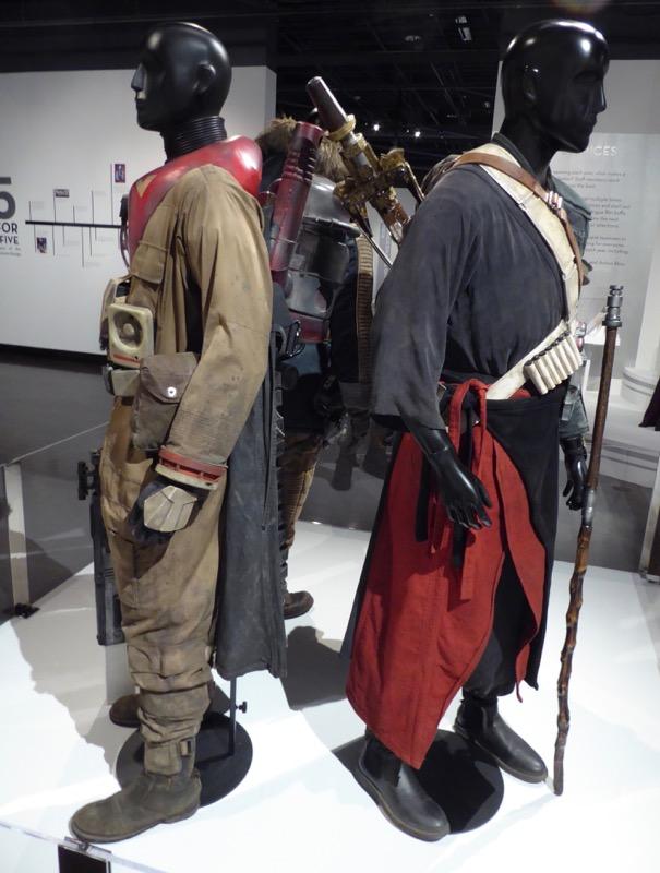 Baze Malbus Chirrut Imwe Rogue One costumes