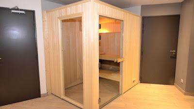 sauna hotel Paris