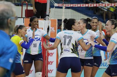 vôlei feminino Bernardinho Fabi Rio de Janeiro