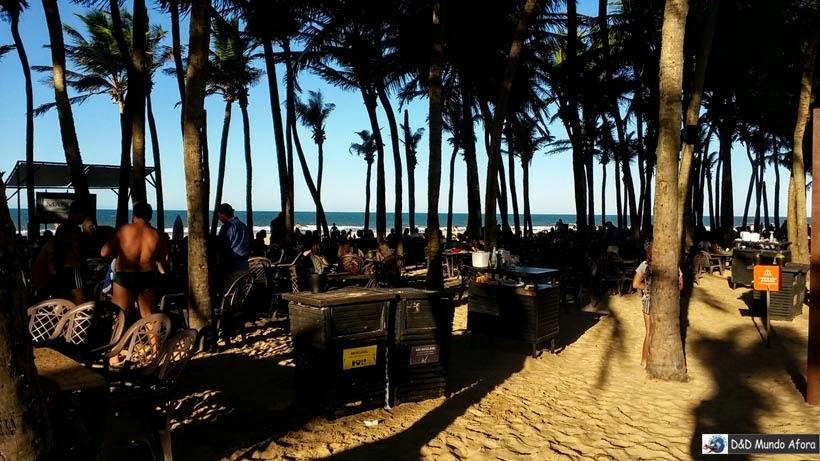 Restaurante de Praia no Beach Park - parque aquático do Ceará