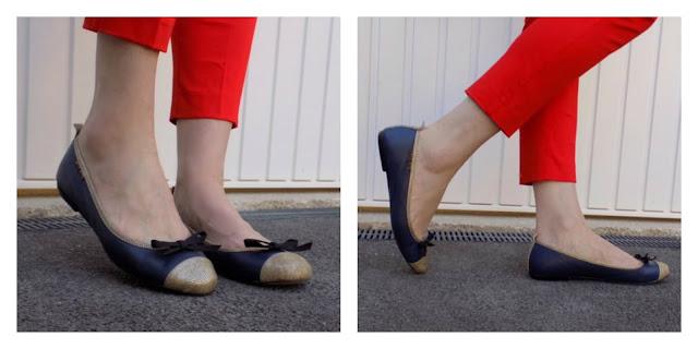 Taylor Blake ballerina shoes