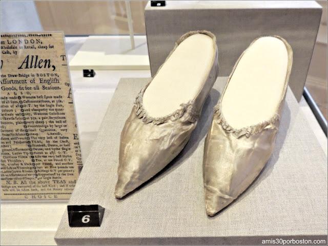 Zapatos de Dorothy Quincy