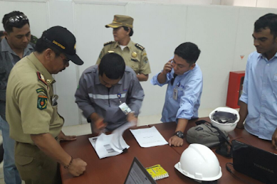 Polres Aceh Tengah Temukan Bendara Palu Arit di Ruang Notaris