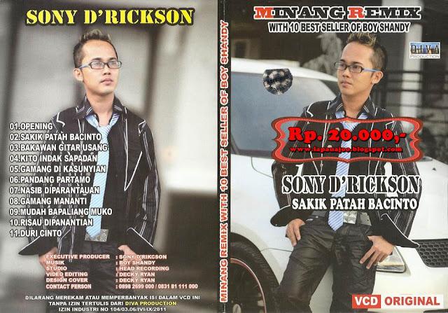 Sonny D'Rickson - Sakik Patah Bacinto (Album Minang Remix)