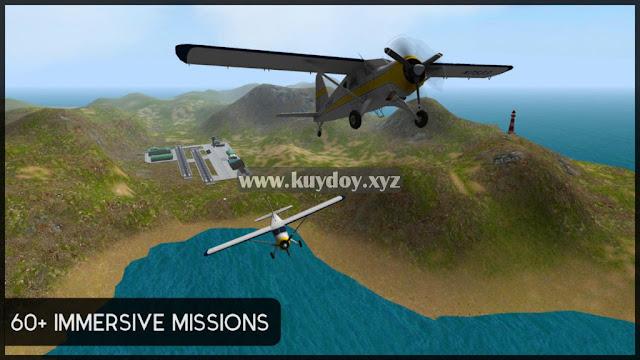 Game simulator Pesawat Terbang offline Android