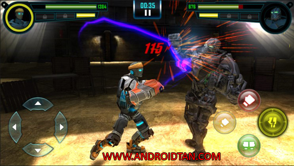 Free Download Real Steel World Robot Boxing Mod Apk v30.30.831 (Unlimited Money/Ads Free) Android Terbaru 2017