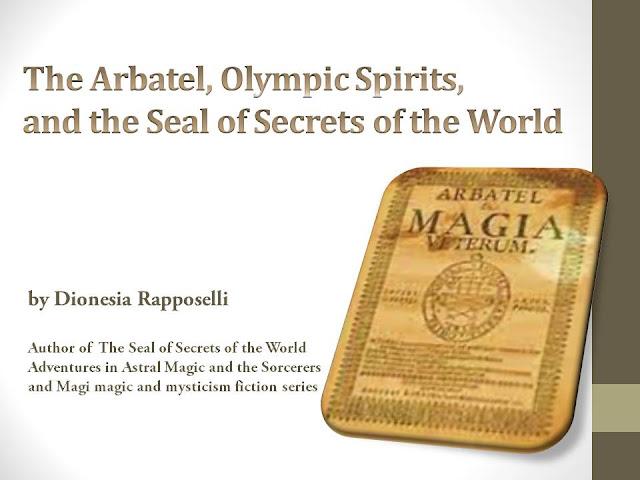 Arbatel, Olympic Spirits