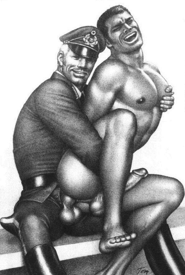 Gay military sex toons xxx boys in thongs 6