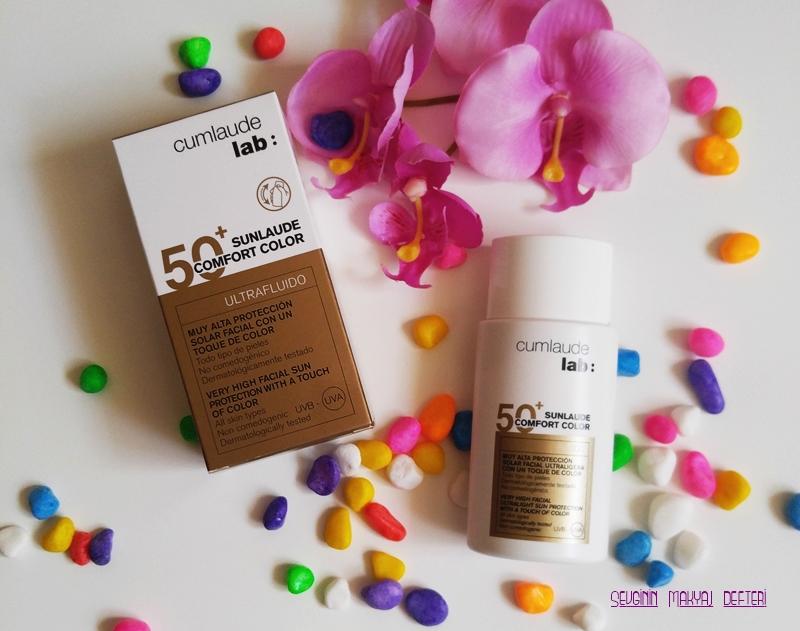 Dermokozmetika- Cumlaude Lab:- 50+ -sunlaude -Comfort Color-makyaj-blogları.jpg