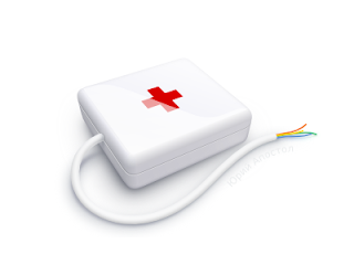 first-aid kit in Inkscape