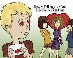 How to talk to a female you like