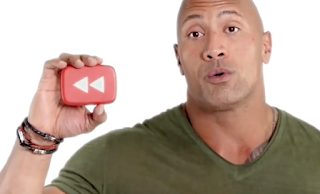 Screenshot Youtube Spotlight Youtube Rewind 2016 Dwayne Johnson shows Sign