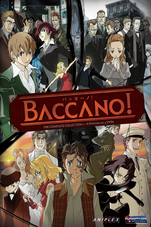 cover anime Baccano!