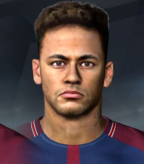 PES 2017 Faces Neymar Jr by A. Hamdy Facemaker