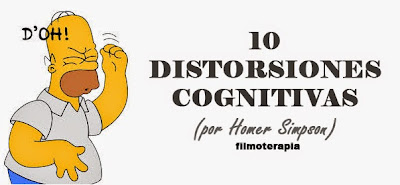 10 DISTORSIONES COGNITIVAS POR HOMERO SIMPSON