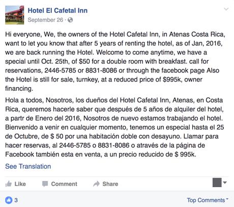 hotelcafetalforsale
