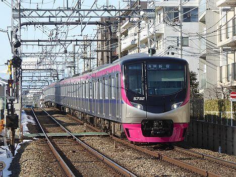 京王電鉄 各停 新宿行き6 5000系