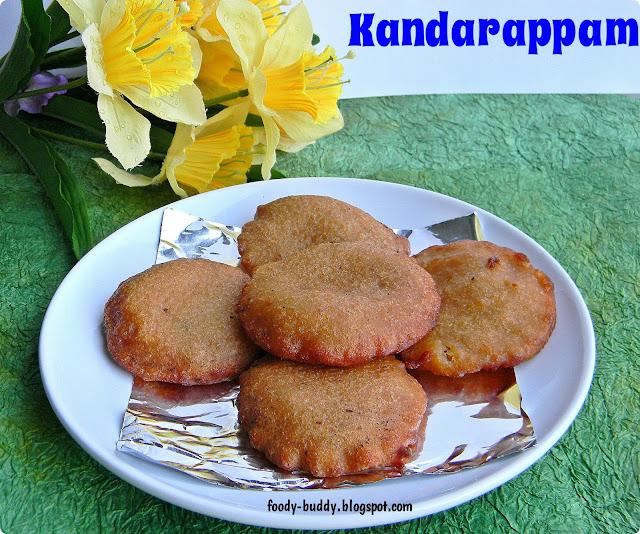 kandarappam recipe