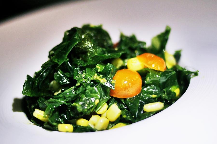 seaweed salad barcelona melia restaurant uno
